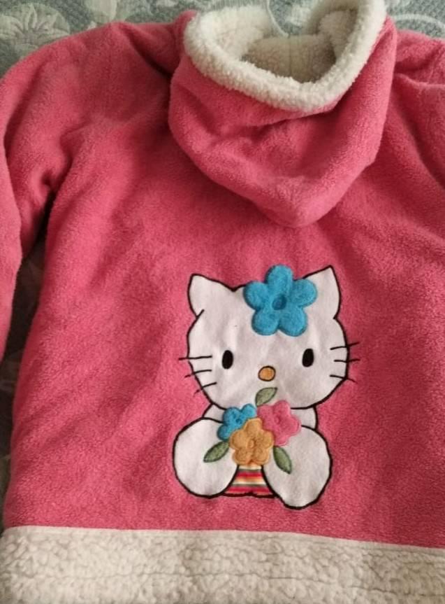 Jaqueta de lã usada
