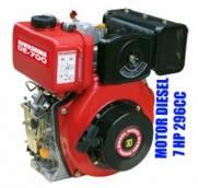 Motor diesel estacionário Kawashima DE-700 7hp 296cc partida elétrica | MÁQUINAS CURITIBA