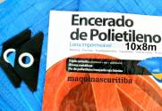 Lona plástica encerado azul 10x8m 100 micras para barraca camping piscina | MÁQUINAS CURITIBA