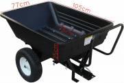 Carreta carretinha para motocultivador tratorito microtrator capac. 250kg | MÁQUINAS CURITIBA