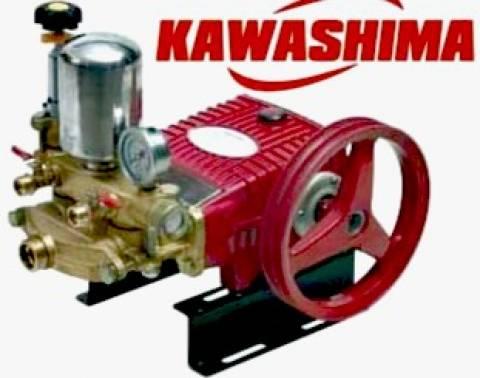 Bomba de pistão lavadora de alta pressão kawashima S40L vazão 40 Litros por min.