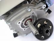 Motor estacionario 6,5hp partida elétrica com embreagem com pinhão | MÁQUINAS CURITIBA