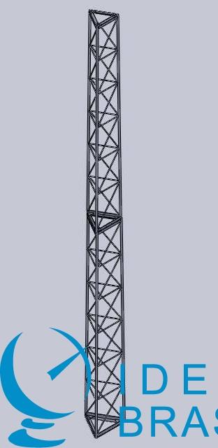 Torre Autoportante triangular Modular - 24m - AEV 3m