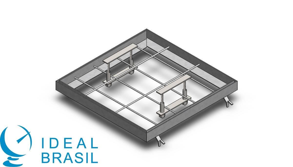 Requadro Metálico para Caixa de Passagem