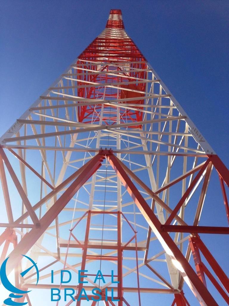 Torre Autoportante Triangular Parafusada - AEV 6m - 30 metro