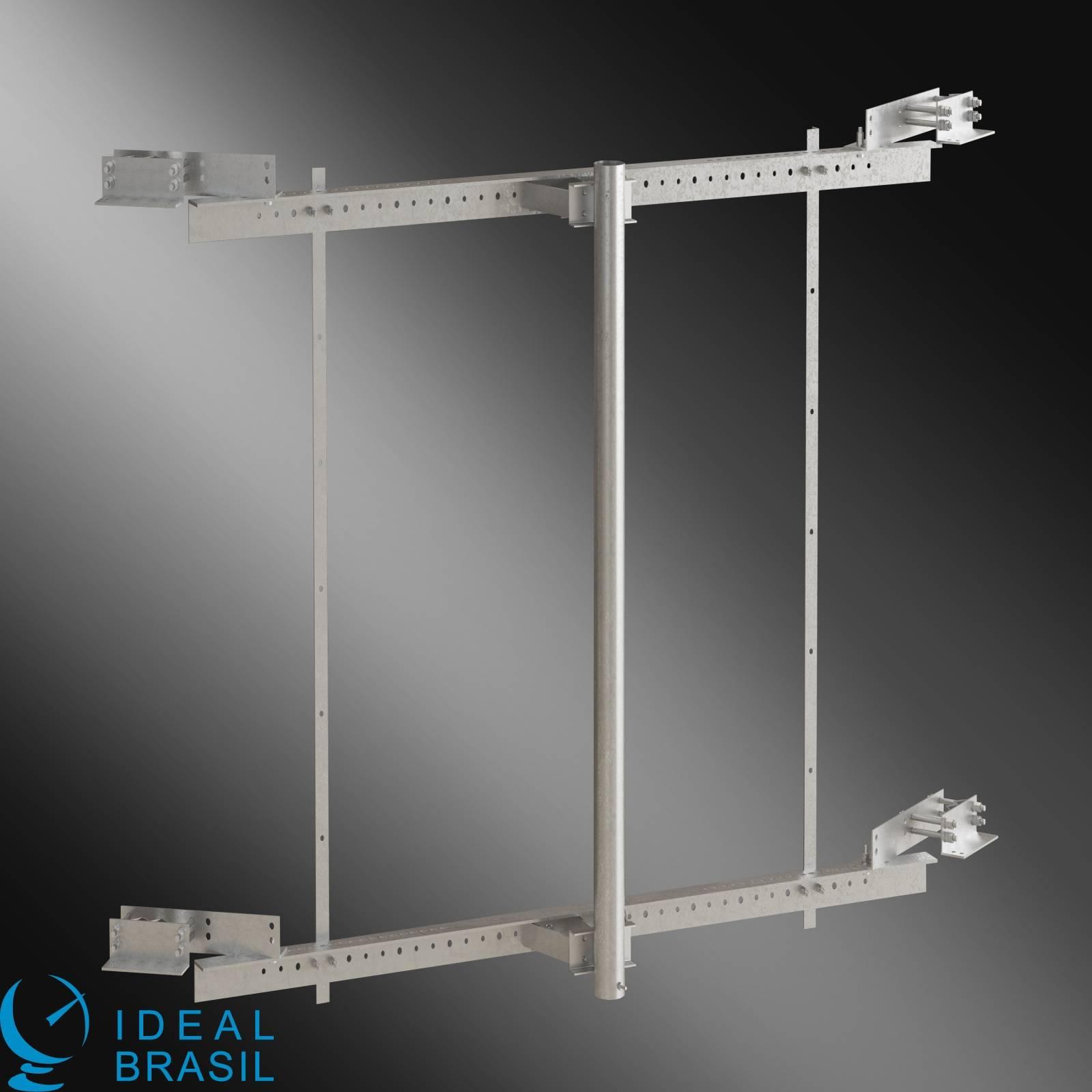 Suporte de Face para Torre - 3,0 metros - 2 m