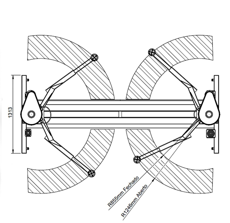 Elevador ROD 4.0 TRIF.220V Lub.Manual a Óleo+CHAVE IMP.3/8 1 - RODAVELE