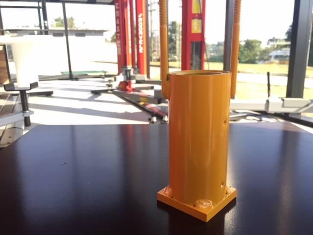 Porca principal GP passo 5mm (antigo) (cód. 10231) - RODAVELE