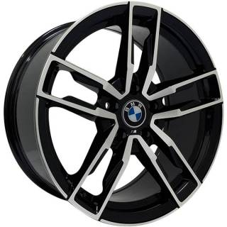 Jogo Rodas BMW Z4 Zeus ZWBZ4 Aro 18 5x112 (ET 35) Preto Diam. Brilhante