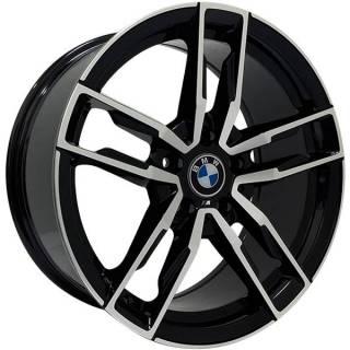 Jogo Rodas BMW Z4 Zeus ZWBZ4 Aro 18 5x112 (ET 28) Preto Diam. Brilhante