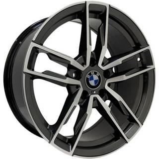 Jogo de Rodas BMW Z4 Zeus ZWBZ4 Aro 18 5x120 (ET 35) Grafite Diam. Brilhante