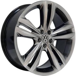 Jogo Rodas Monacco Giardini VW Tiguan R-Line Aro 18 4x100 Dark Gloss