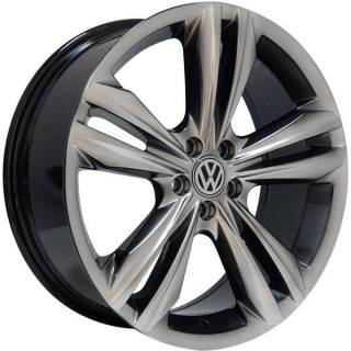 Jogo Rodas Monacco Giardini VW Tiguan R-Line Aro 18 5x100 Dark Gloss