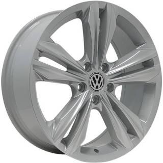 Jogo de Rodas Monacco Giardini VW Tiguan R-Line Aro 18 5x112 Hiper Prata