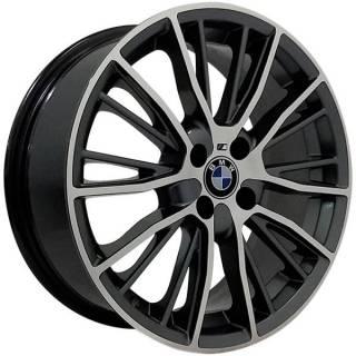 Jogo Rodas BMW Serie 3 Touring Aro 17 5x120 Grafite Diamantado