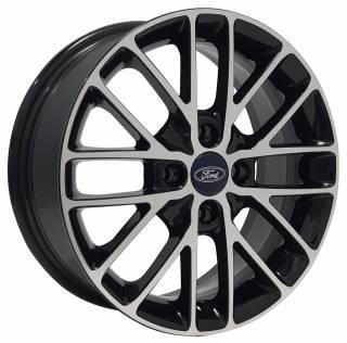 Jogo Rodas Ford EWB20 15X60 4X108 ET:40 CB:72,6 Preto Brilhante Diam.