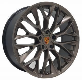 Jogo Rodas Porsche P-200 ZWPC1 22X90 5X130 ET:45 CB:71,6 Gold Semi-Brilho