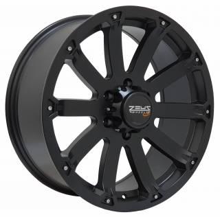 Jogo Rodas Mitsubishi L200 Black Rhino Sidewinder 20x8,5 6x139 Preto Semi-Brilho