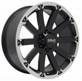 Jogo Rodas GM S10/Blazer Black Rhino Sidewinder 20x8,5 6x139 Pre. SB. Diam.