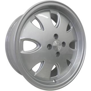 Jogo de Rodas Vollk Wheels Opala VLK-310 Aro 17 4x100 Prata