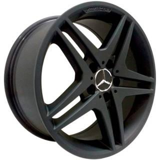Jogo de Rodas Zeus Mercedes ZM Aro 17 5x112 Preto Fosco