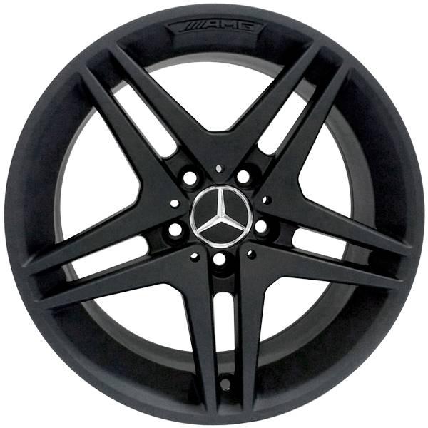 Jogo de Rodas Zeus Mercedes ZM Aro 17 5x112 Preto Fosco - Athena Store