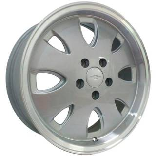 Jogo Rodas Vollk Wheels Opala VLK-310 Aro 17 5x114 Prata Diamantado