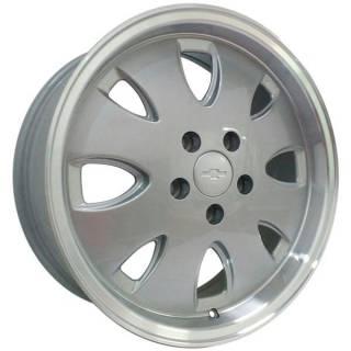 Jogo Rodas Vollk Wheels Opala VLK-310 Aro 17 4x100 Prata Diamantado
