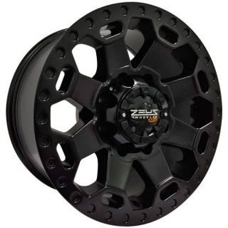 Jogo Rodas Dodge Ram OFF Road Zeus ZWAT1 17x9 8x165 Preto
