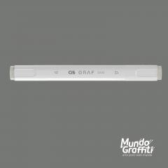 Marcador Cis Graf Duo Cool Grey CG3