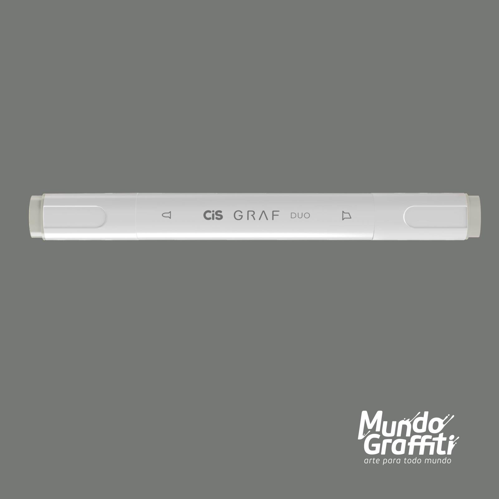 Marcador Cis Graf Duo Cool Grey CG3 - Mundo Graffiti