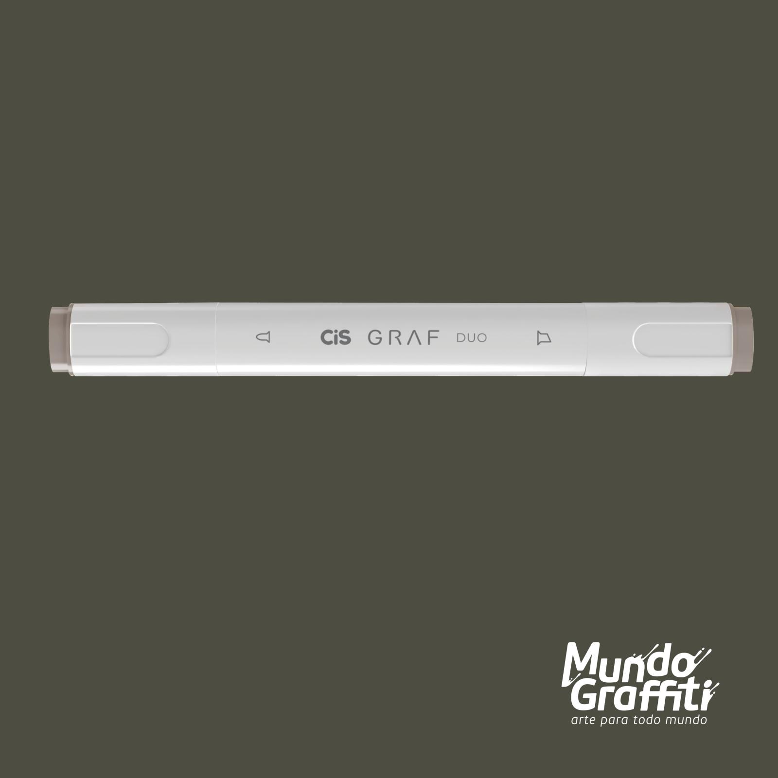 Marcador Cis Graf Duo Warm Grey WG6 - Mundo Graffiti