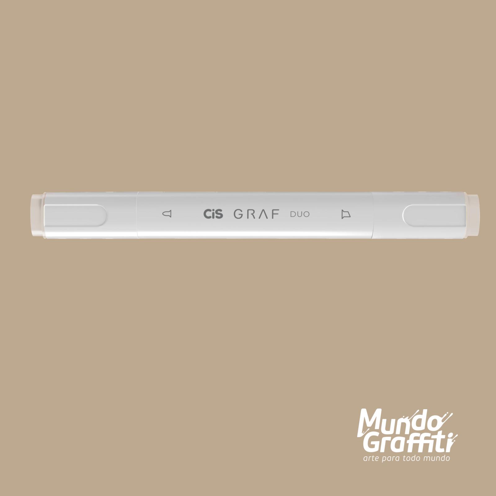Marcador Cis Graf Duo Warm Grey WG2 - Mundo Graffiti
