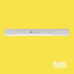 Marcador Cis Graf Duo Pastel Yellow 37