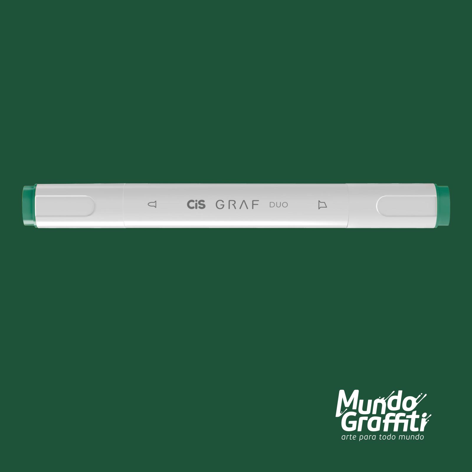 Marcador Cis Graf Duo Forest Green 50 - Mundo Graffiti