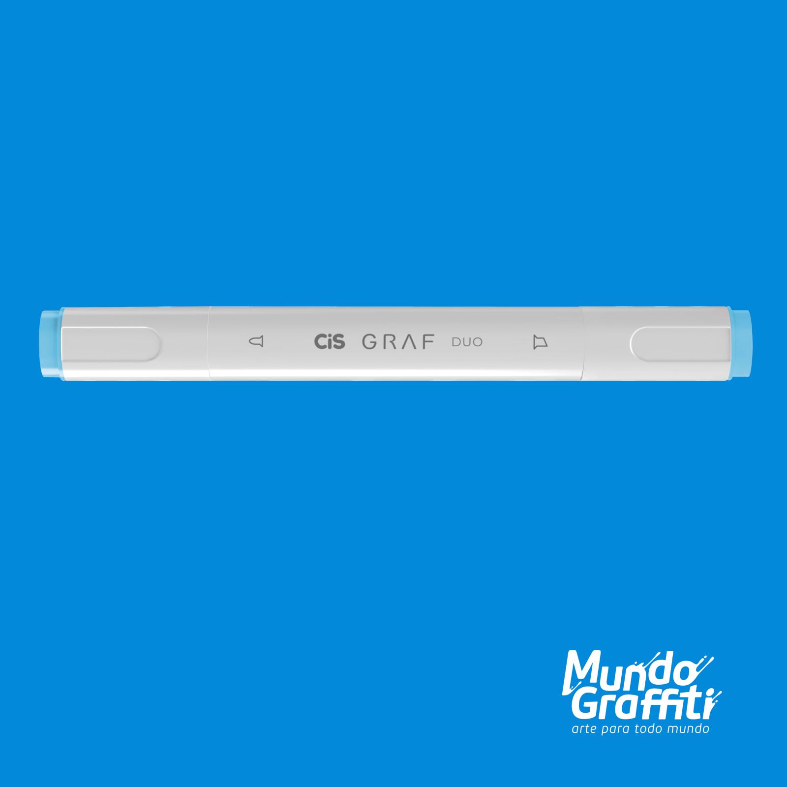 Marcador Cis Graf Duo Sky Blue 76 - Mundo Graffiti