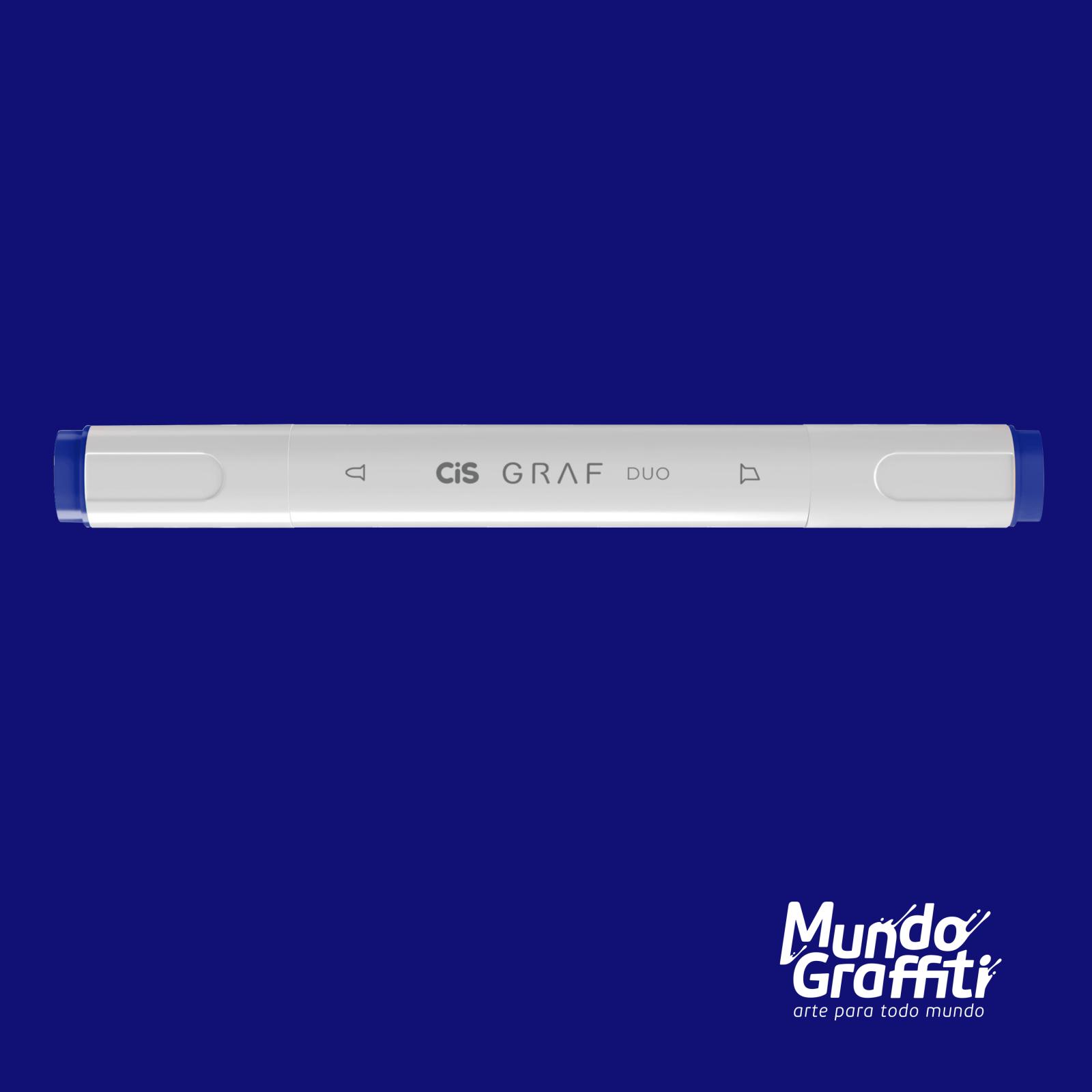 Marcador Cis Graf Duo Cobalt Blue 71 - Mundo Graffiti