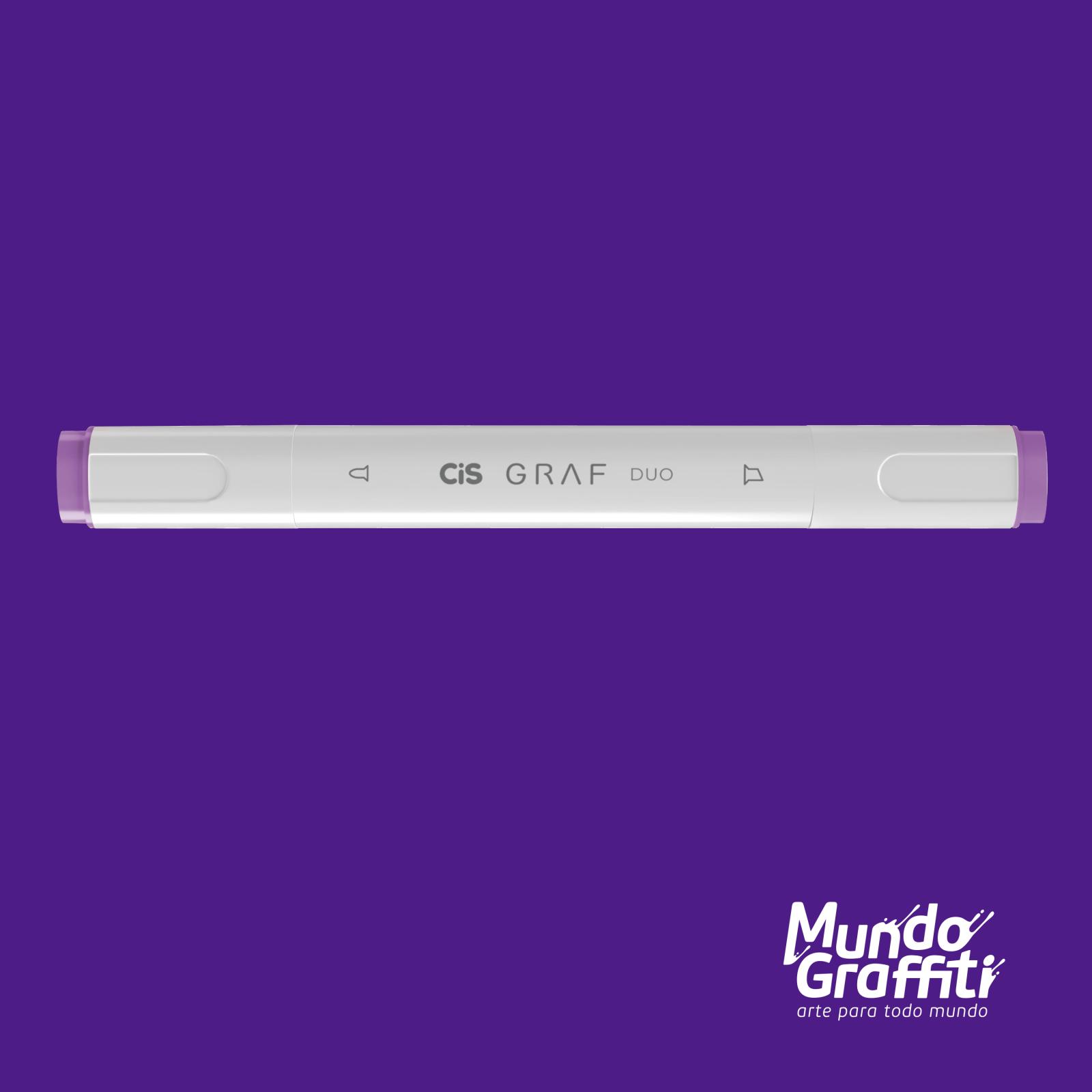 Marcador Cis Graf Duo Light Violet 82 - Mundo Graffiti