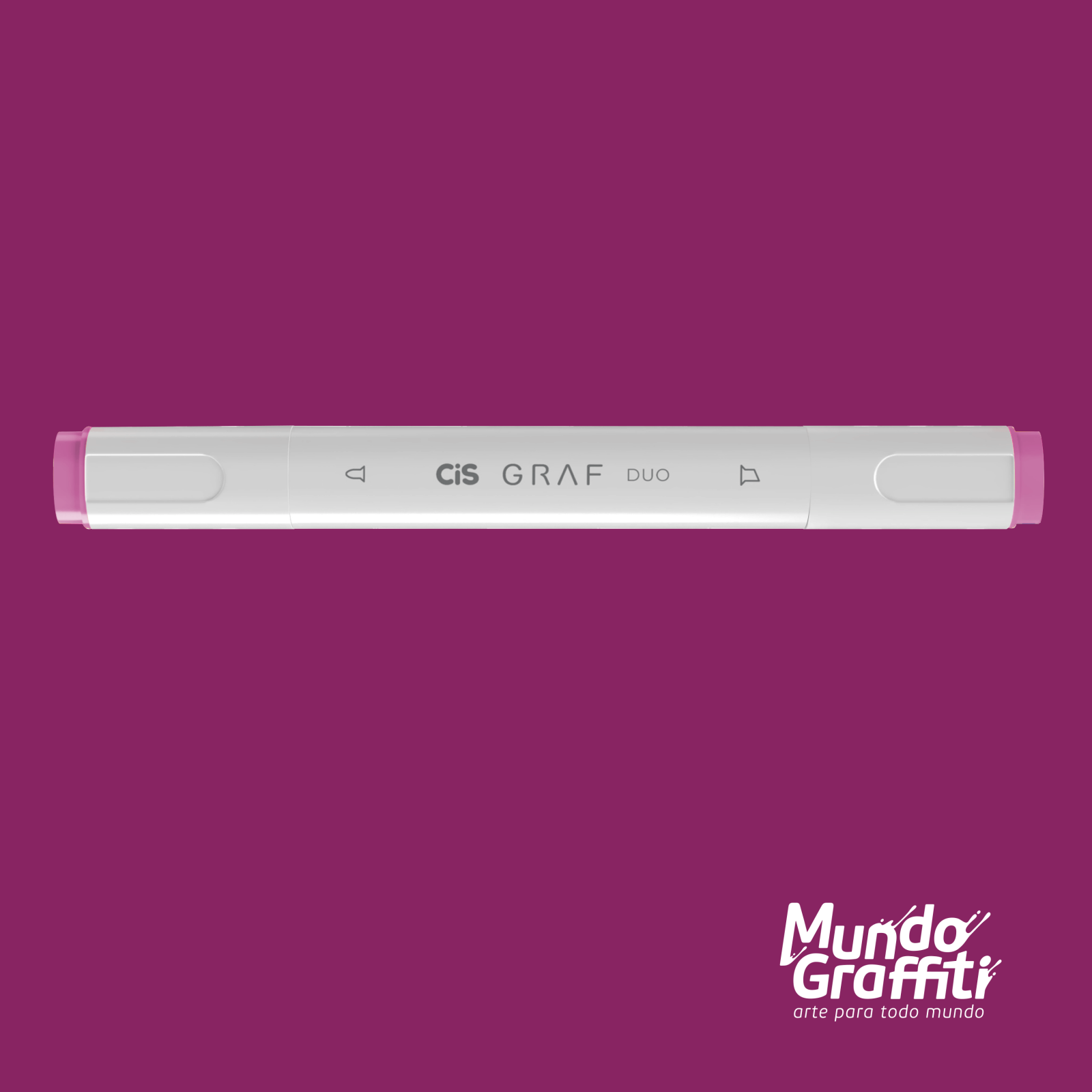 Marcador Cis Graf Duo Vivid Purple 85 - Mundo Graffiti