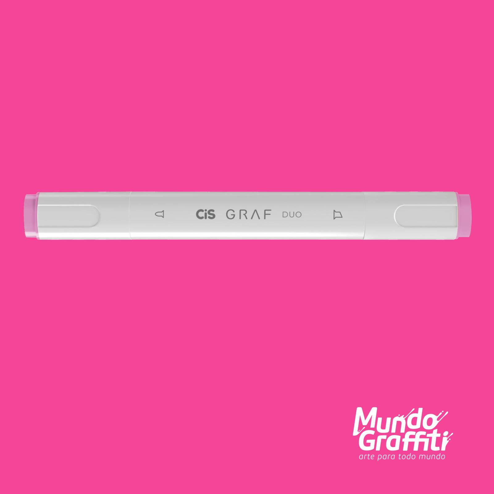 Marcador Cis Graf Duo Vivid Pink 6 - Mundo Graffiti