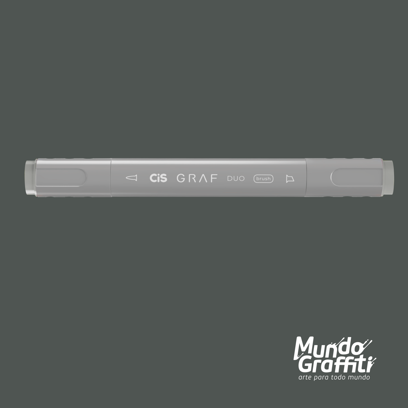 Marcador Cis Graf Duo Brush Cool Grey CG5 - Mundo Graffiti