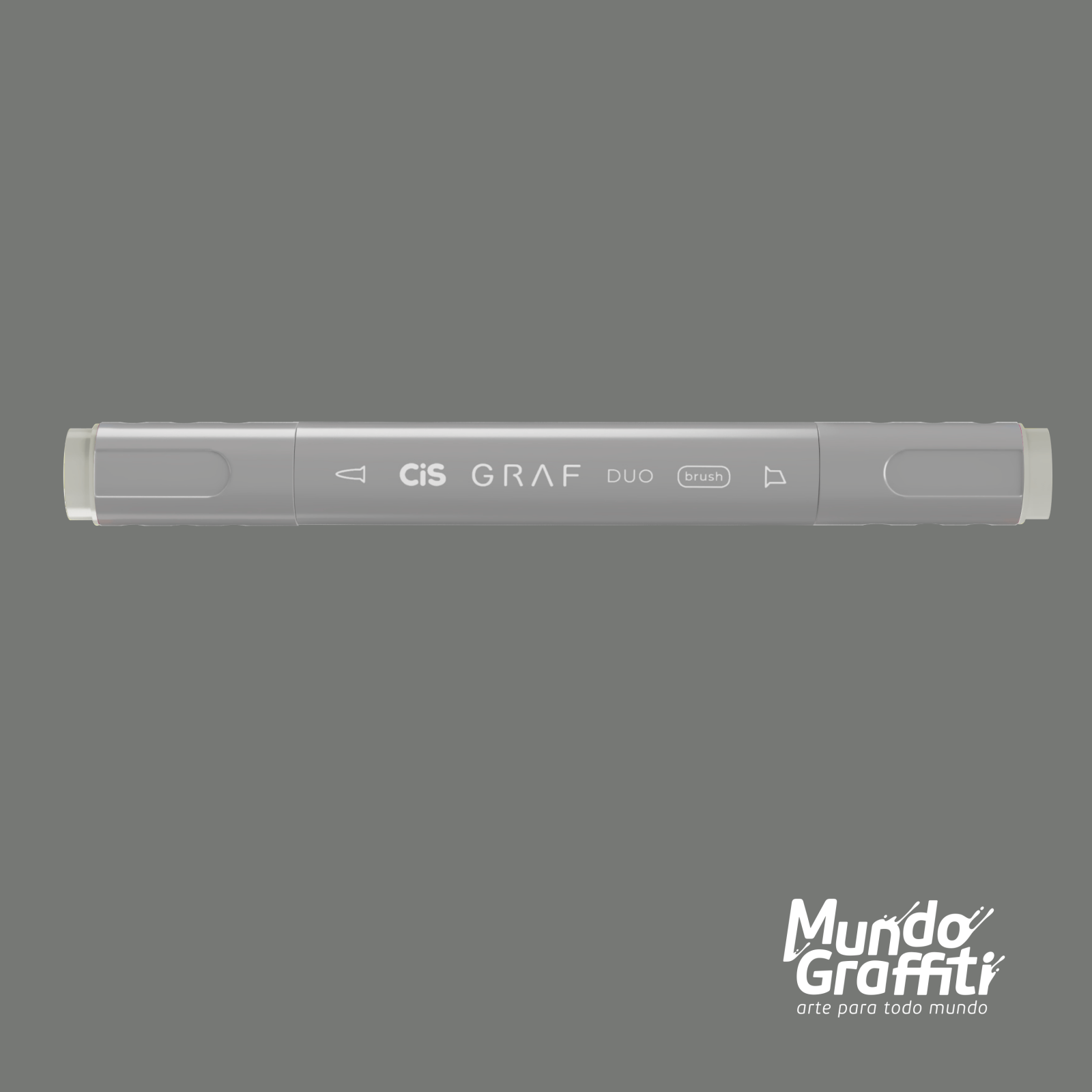 Marcador Cis Graf Duo Brush Cool Grey CG3 - Mundo Graffiti
