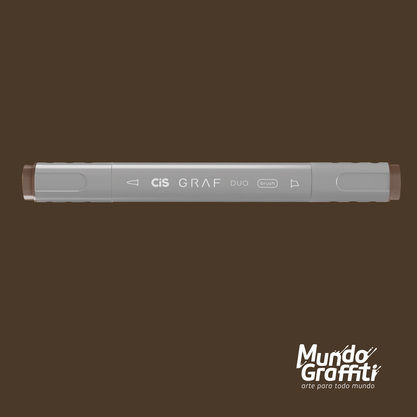 Marcador Cis Graf Duo Brush Chestnut Brown 98 - Mundo Graffiti