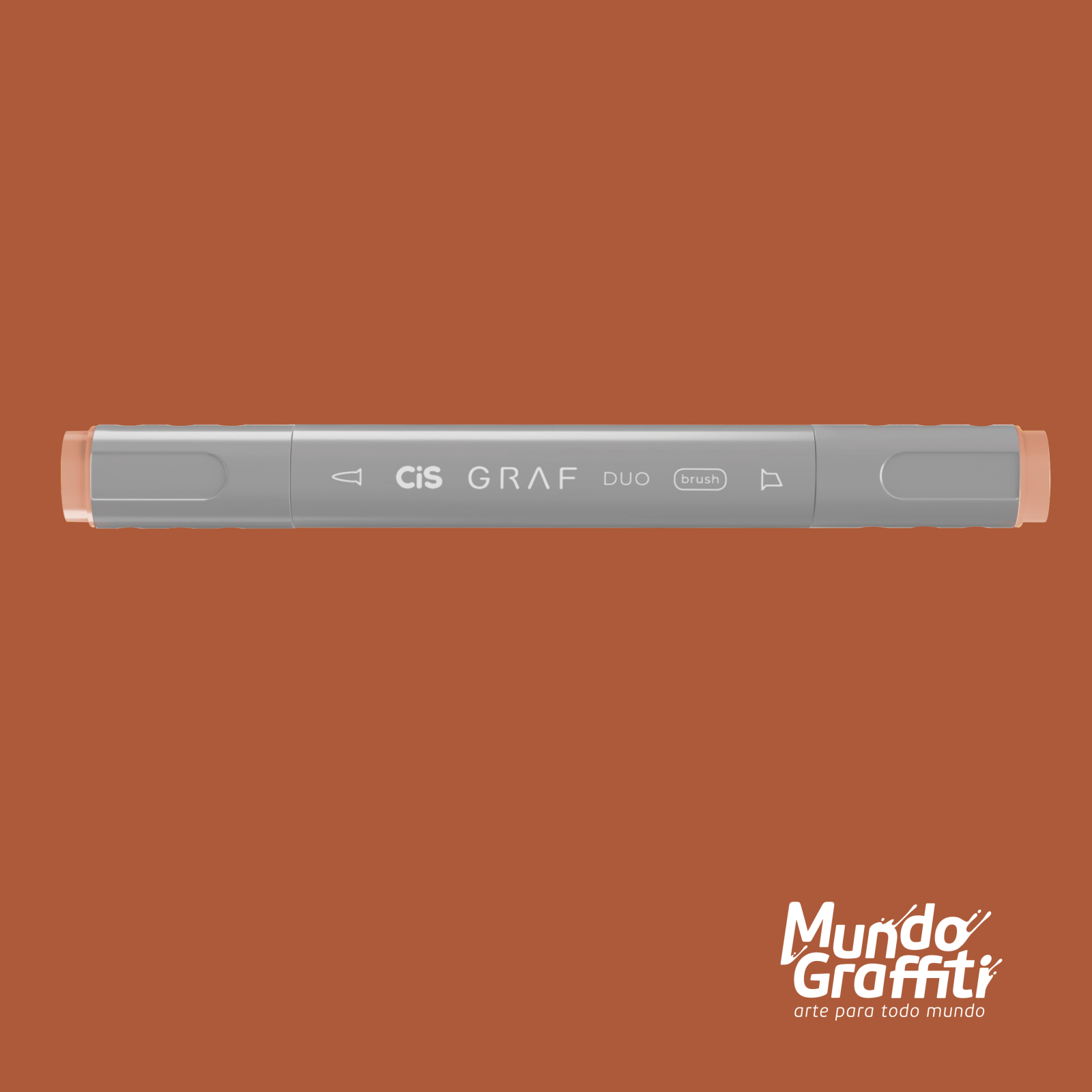 Marcador Cis Graf Duo Brush Potato Brown 103 - Mundo Graffiti