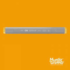 Marcador Cis Graf Duo Brush Deep Yellow 32