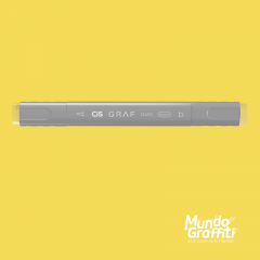 Marcador Cis Graf Duo Brush Canaria Yellow 45