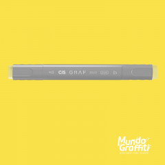 Marcador Cis Graf Duo Brush Pastel Yellow 37
