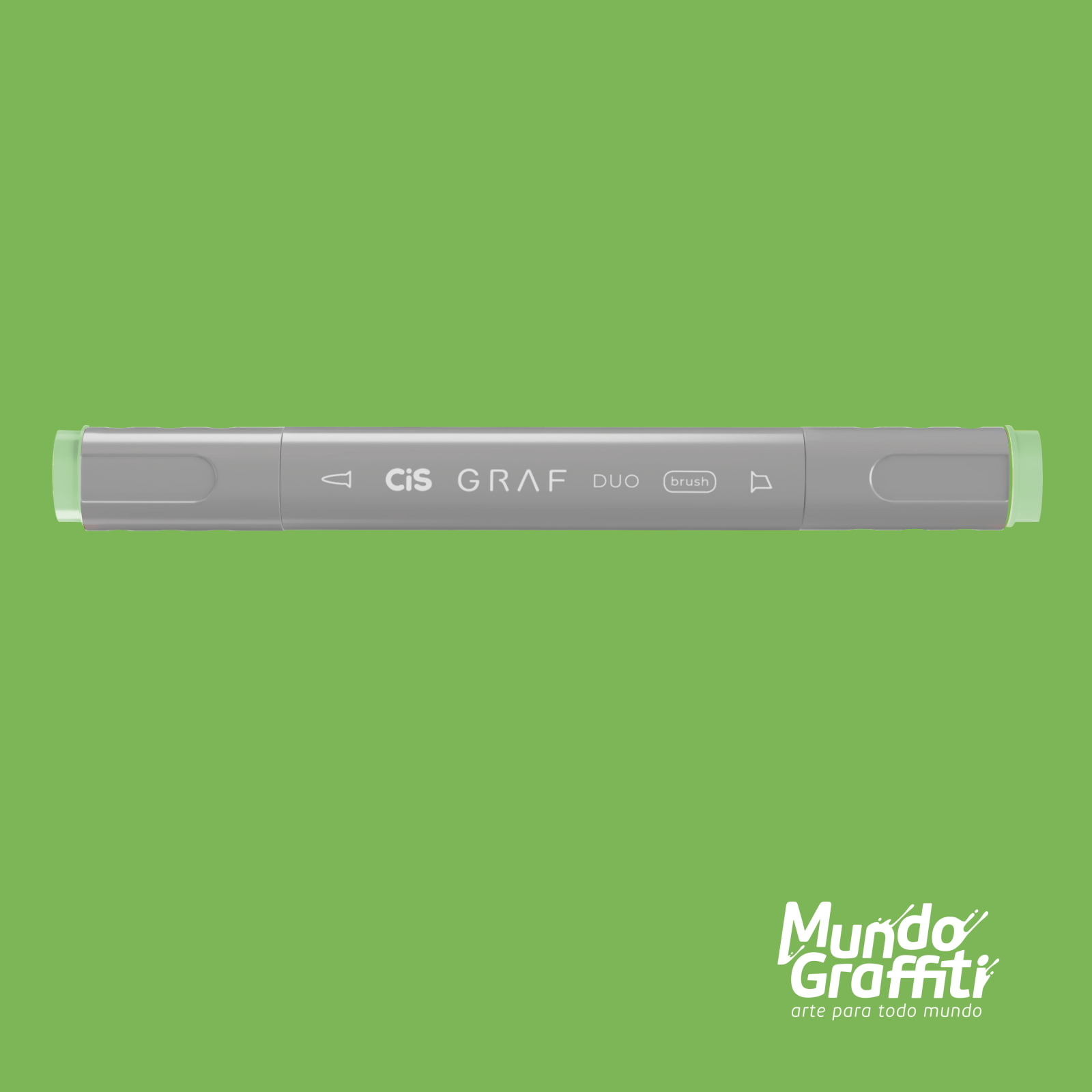 Marcador Cis Graf Duo Brush Pale Green 59 - Mundo Graffiti