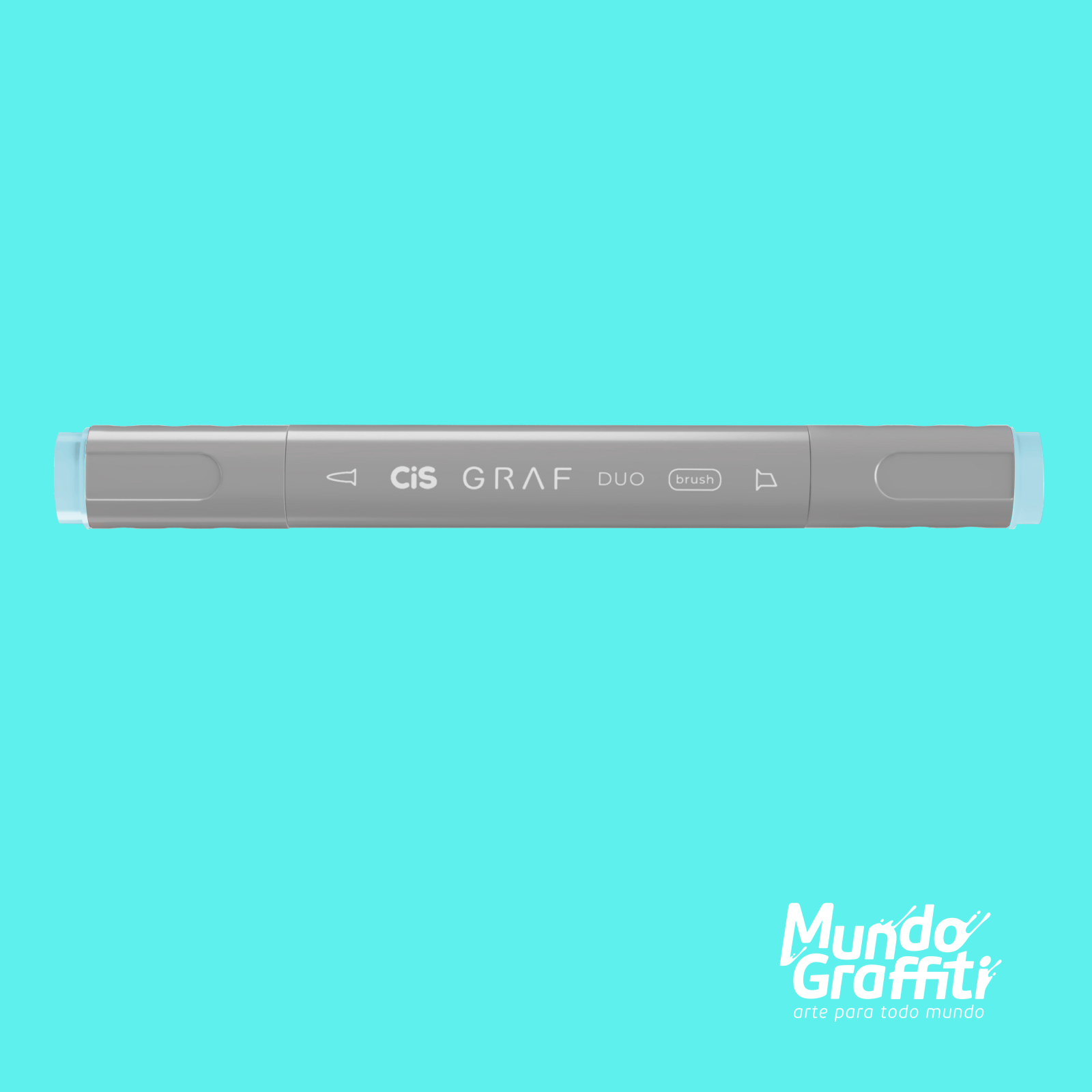 Marcador Cis Graf Duo Brush Pastel Blue 67 - Mundo Graffiti