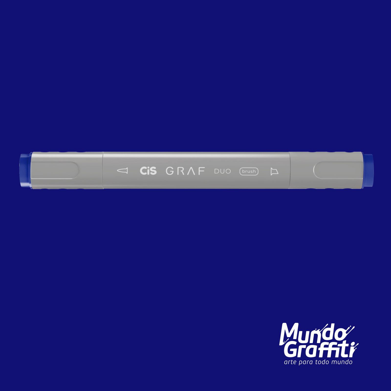 Marcador Cis Graf Duo Brush Cobalt Blue 71 - Mundo Graffiti